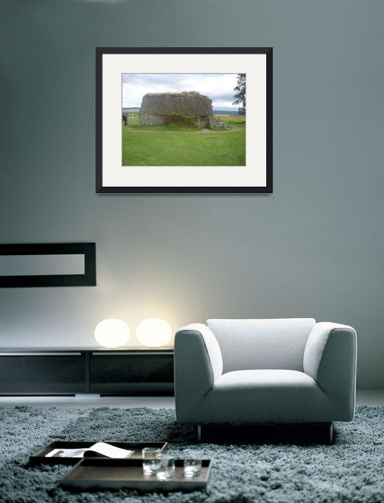 """Leanach Cottage Culloden Moor&quot  (2009) by Samme"