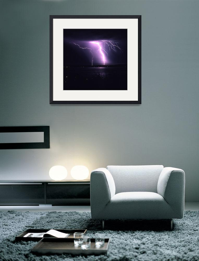 """Puget Sound Lightning 4&quot  (1996) by christopherboswell"