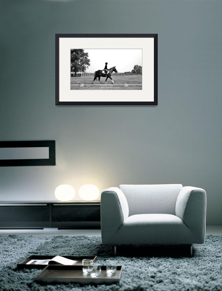 """© CBp Dressage Warmup&quot  by creekbottomgifts"