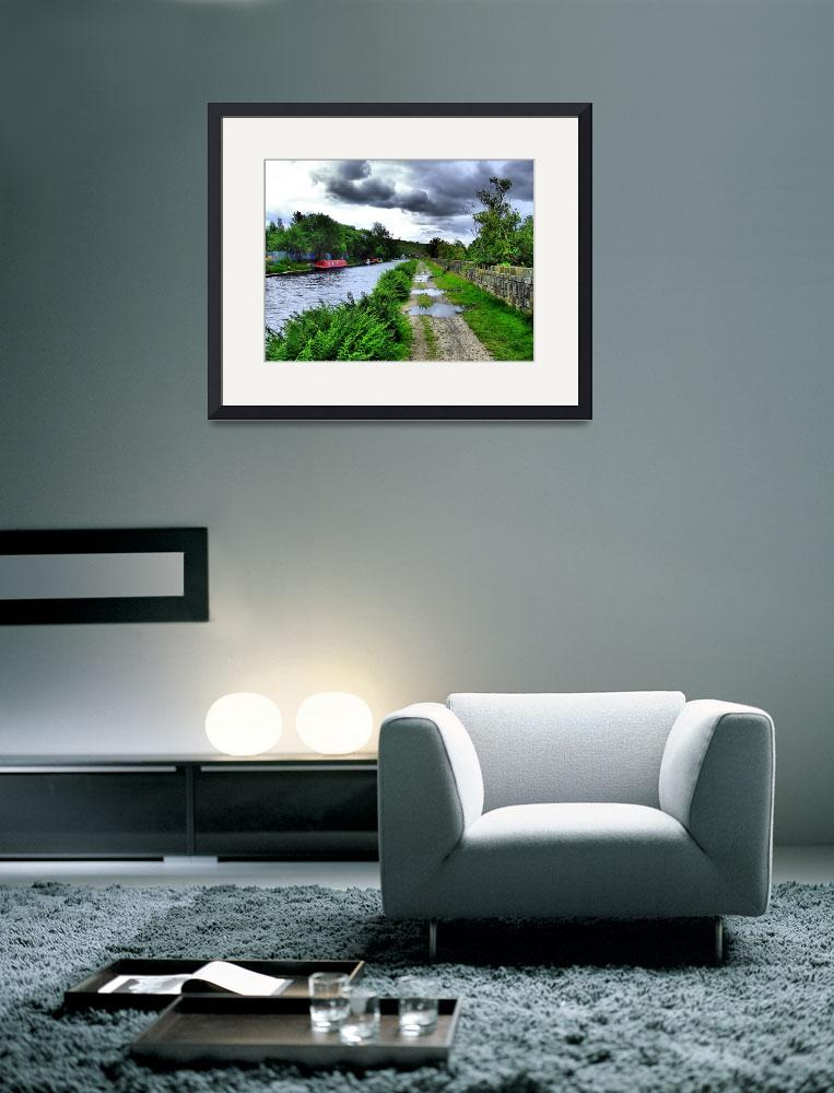 """Rochdale Canal&quot  (2008) by wilkyphoto"
