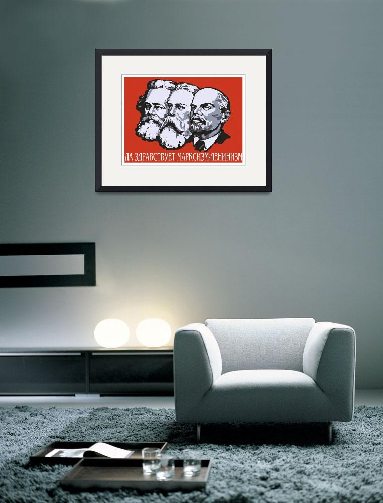 """Karl Marx Friedrich Engels Vladimir Ilyich Lenin&quot  by oldies"