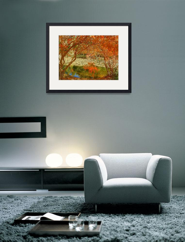 """Story Of Autumn - Art In Nature&quot  by artsandi"