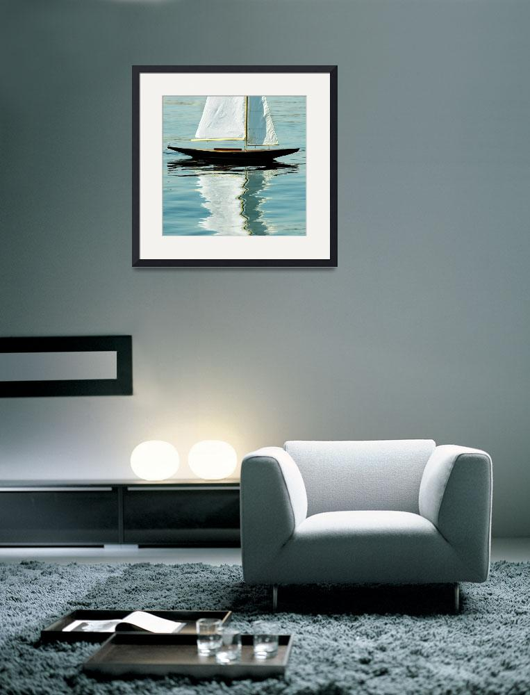 """Model Sailboat&quot  (2007) by byUside"