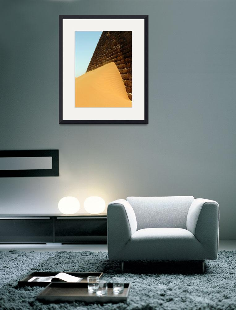 """Sudanese pyramid&quot  (2009) by jimmy-joe"