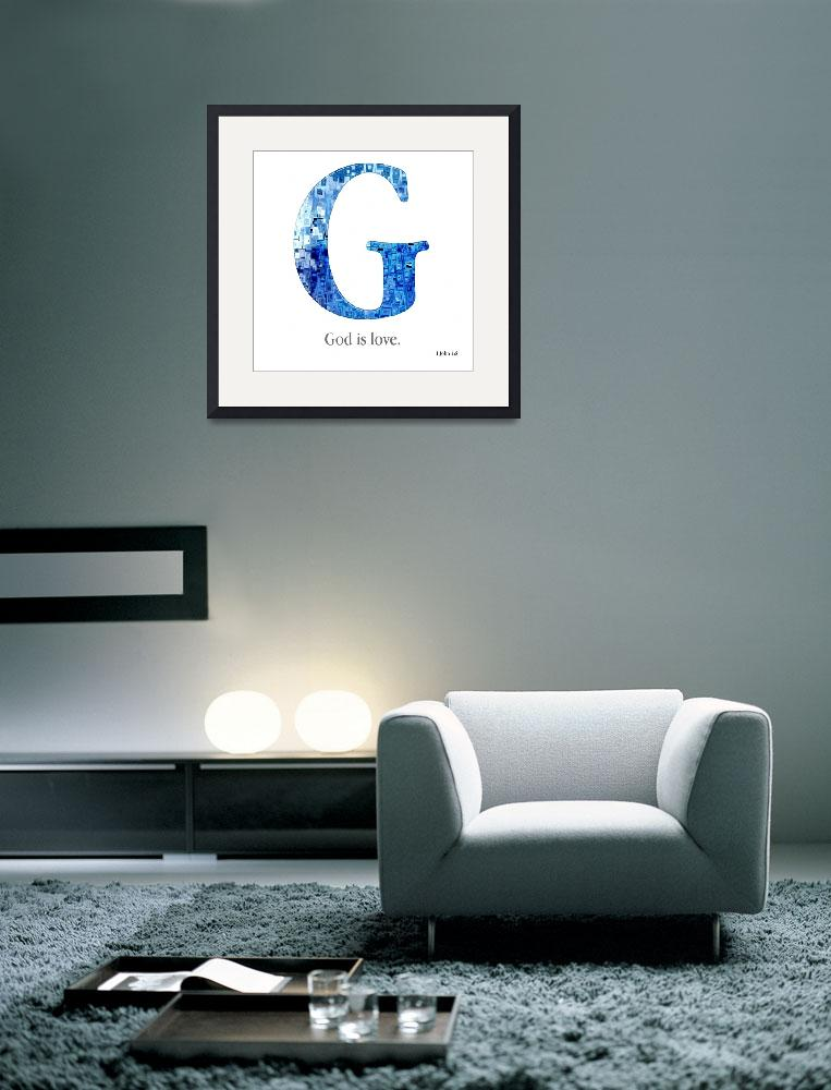 """G, the Christian Alphabet&quot  (2008) by MarkLawrence"