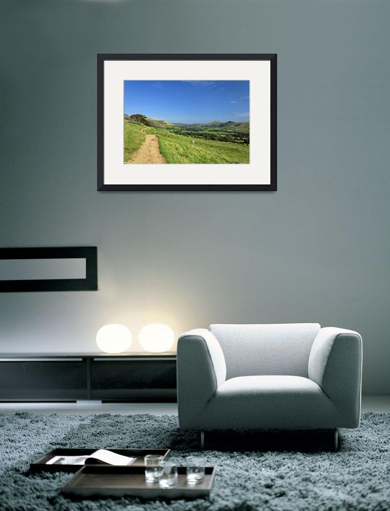 """The Vale of Edale from the Pennine Way (34377-RDA)&quot  (2012) by rodjohnson"