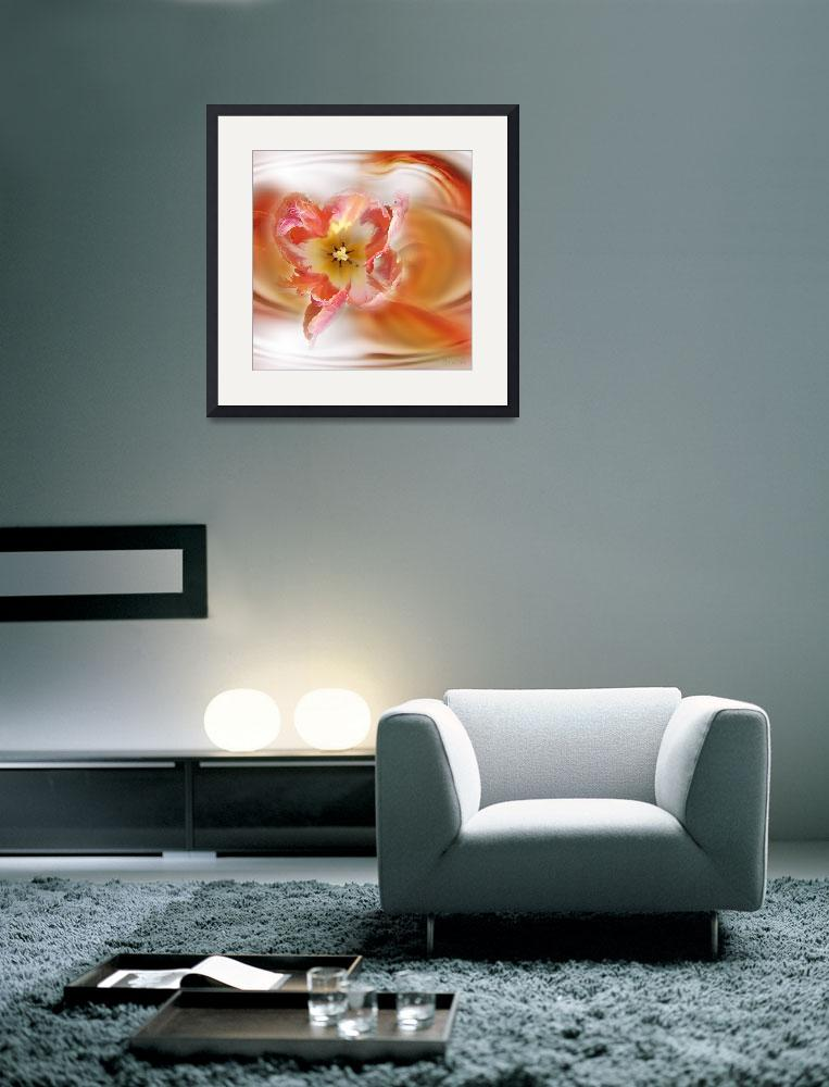 """The Sensual Tulip&quot  (2009) by AnneVis"