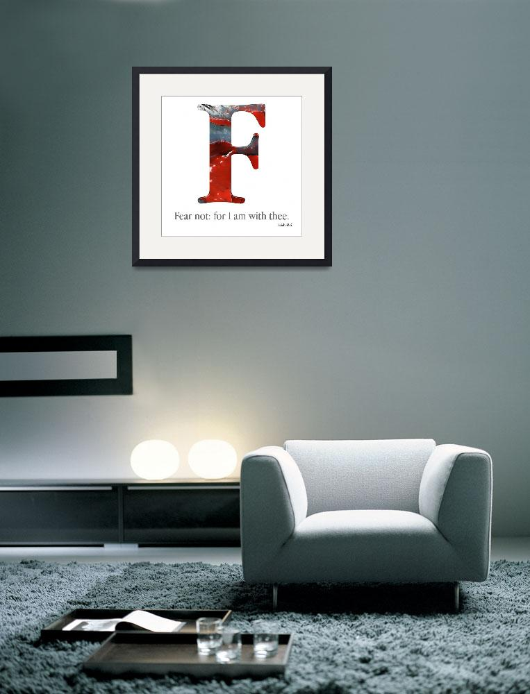 """F, the Christian Alphabet&quot  (2007) by MarkLawrence"