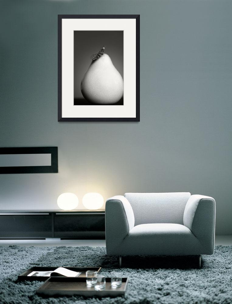 """Pear in Porcelain&quot  (2005) by dawnleblanc"