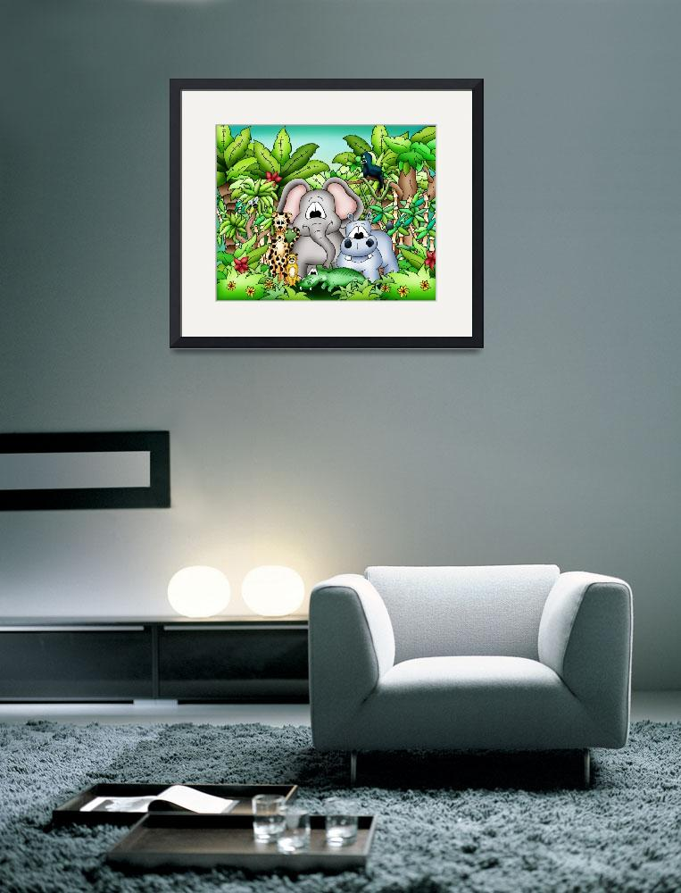"""Zoo Animals with Elephant&quot  (2010) by just4mebooks"
