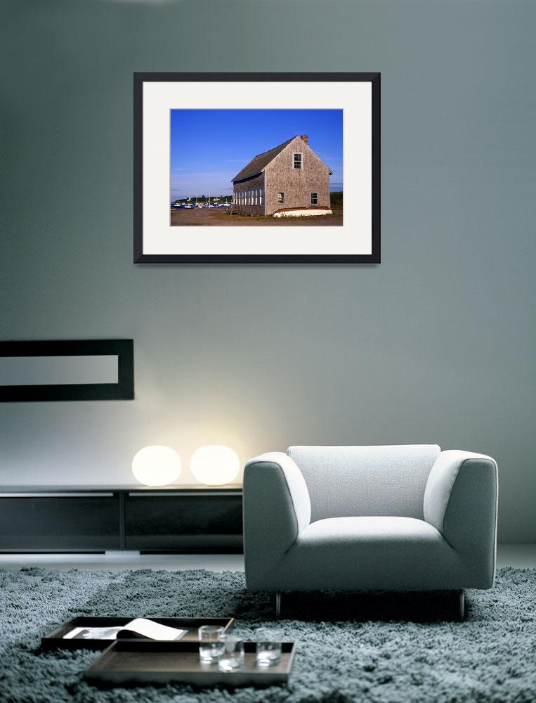 """Boat house on Chatham Harbor, Cape Cod&quot  (2007) by CapeLight"