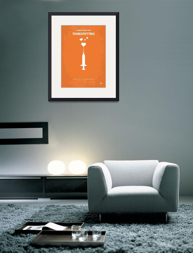 """No152 My TRAINSPOTTING minimal movie poster&quot  by Chungkong"
