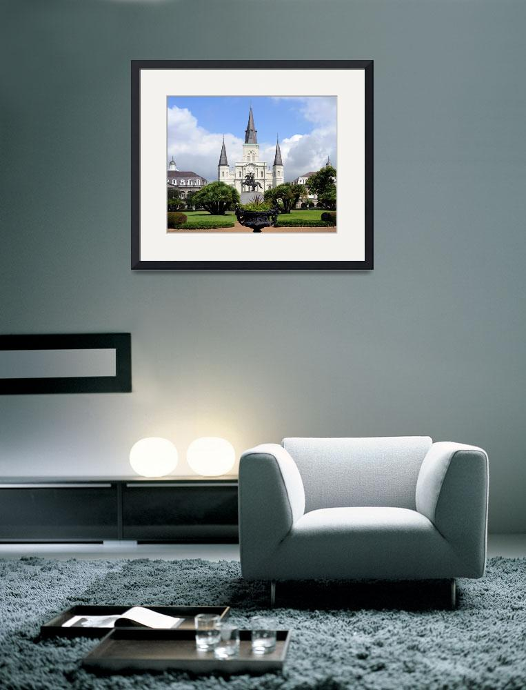 """St Louis Cathedral&quot  by NaturePlusStudios"