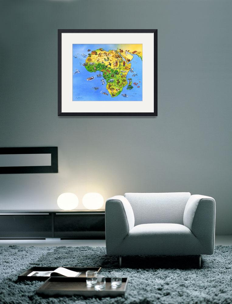 """Africa&quot  (2012) by utesimon"