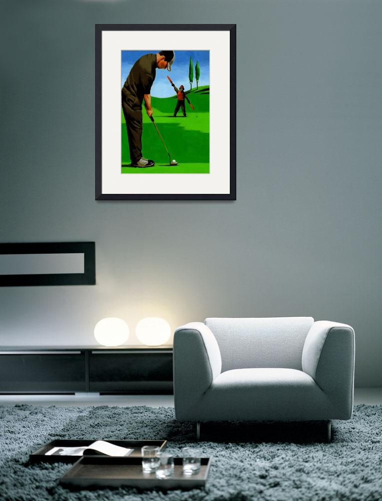 """Golf On The Fly&quot  (2010) by thomasfuchs"