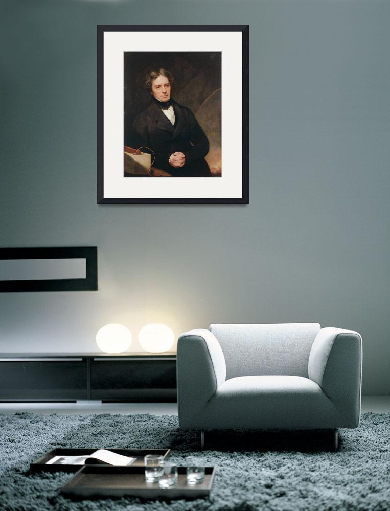 """Portrait of Michael Faraday&quot  by fineartmasters"