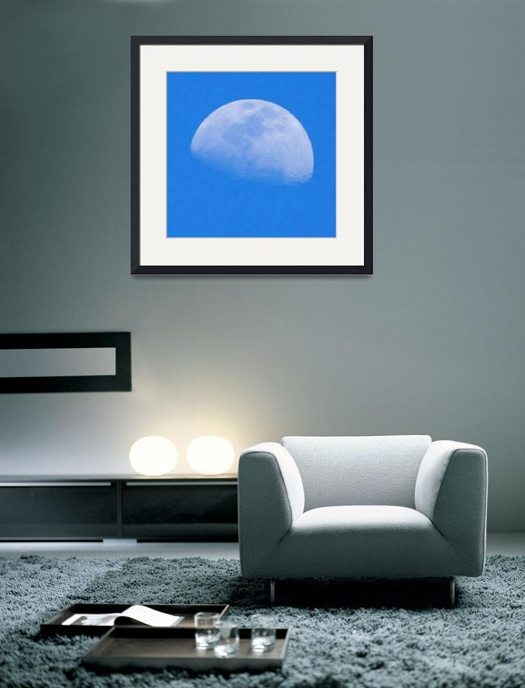 """Moon in Blue&quot  (2011) by AnimalsbyDiDi"