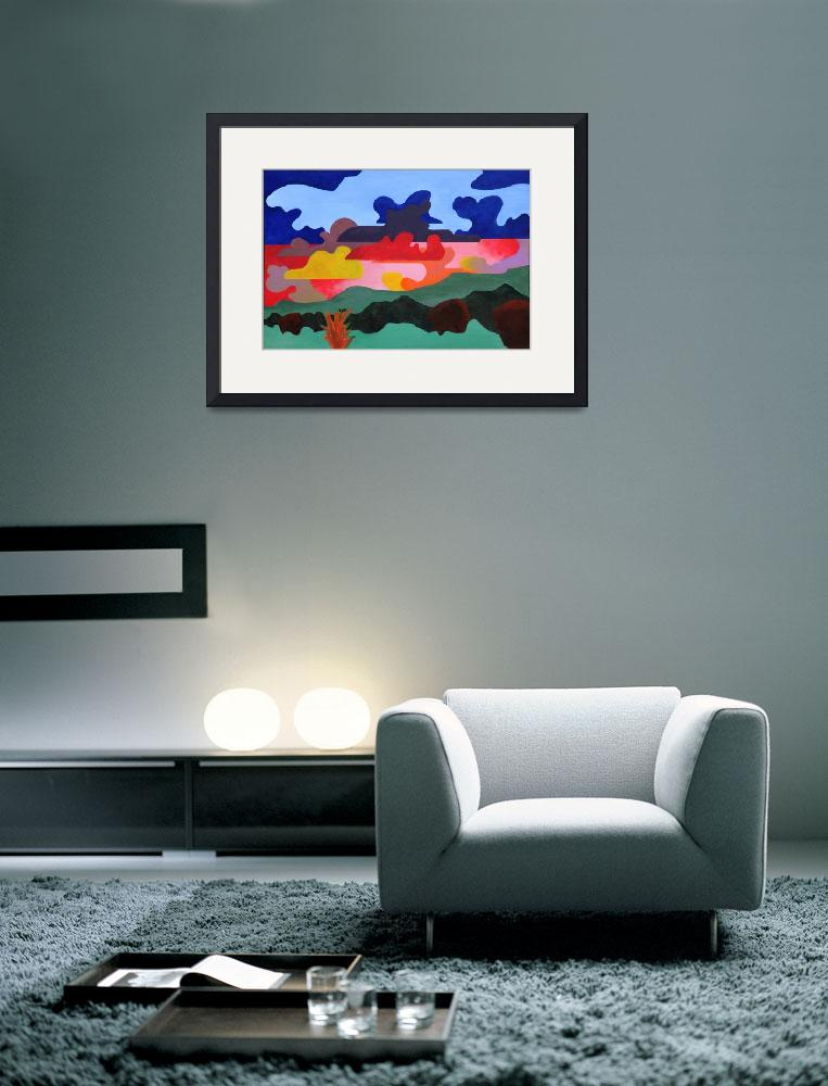 """New Mexico Landscape 1&quot  (2010) by weller"