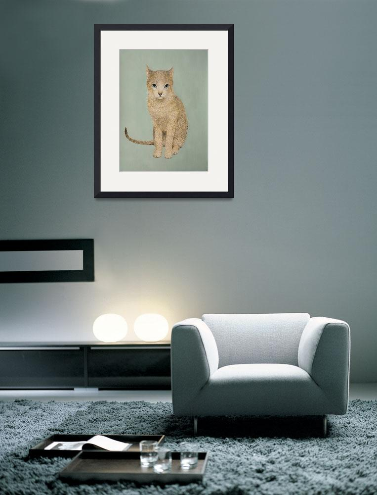 """Ginger Cat&quot  (2005) by ericmcloughlin"