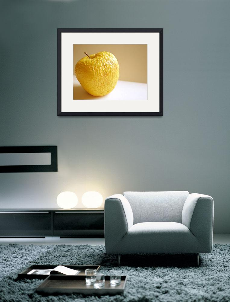 """old apple&quot  (2008) by Dessie"