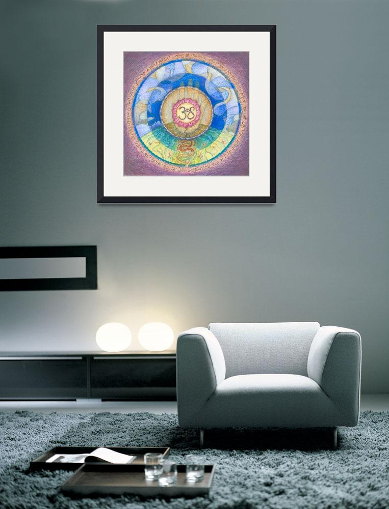 """Mandala for Peace and Happiness&quot  (2007) by DevotionalArts"