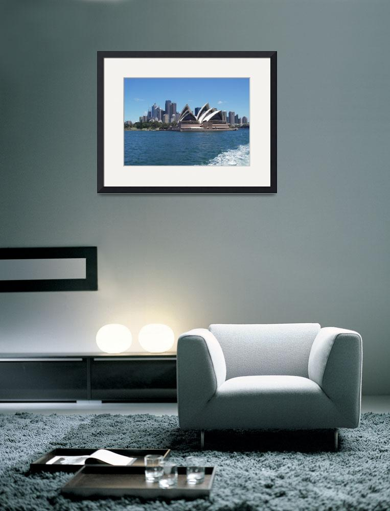 """The Sydney Opera House&quot  (2010) by Impression"