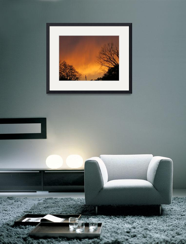 """Orange Skies&quot  (2013) by InstantPhoto"
