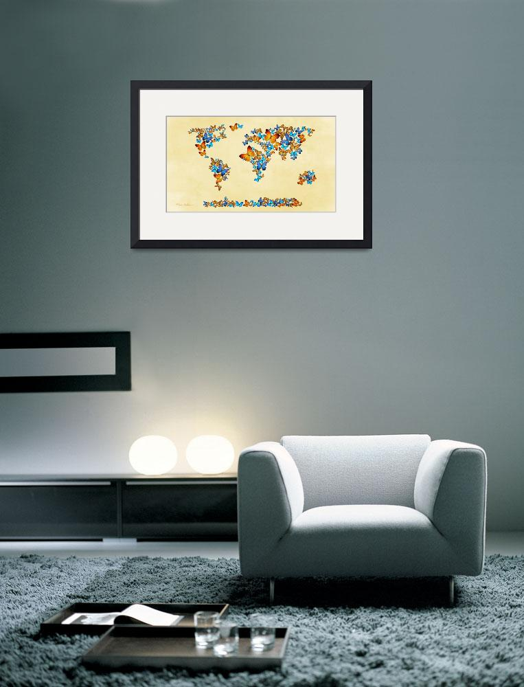 """Map_of_the_world&quot  (2013) by markashkenazi"