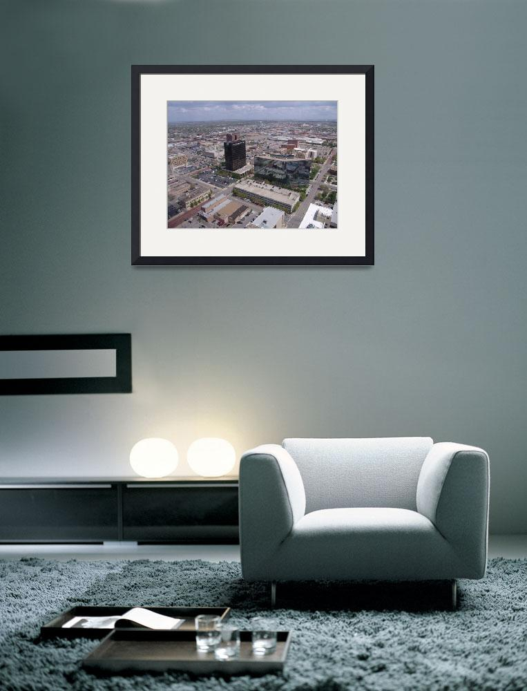 """Looking Northeast on Downtown Amarillo, TX&quot  (2007) by TheElectricOrphanage"