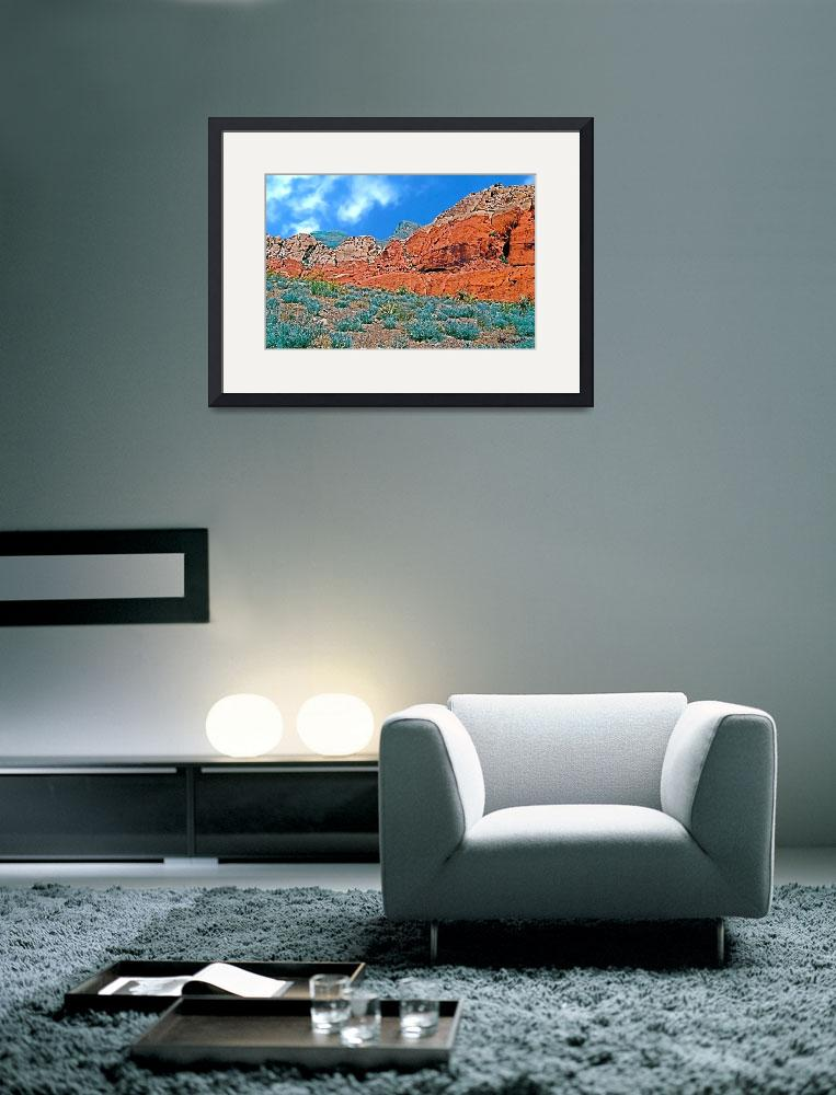"""Red Rock Canyon State Park II, Nevada&quot  (2007) by trevortrent"