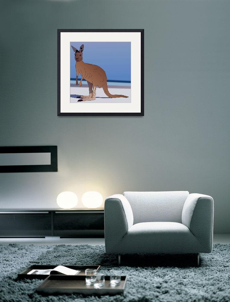 """Kangaroo For Australia&quot  (2012) by Casino"