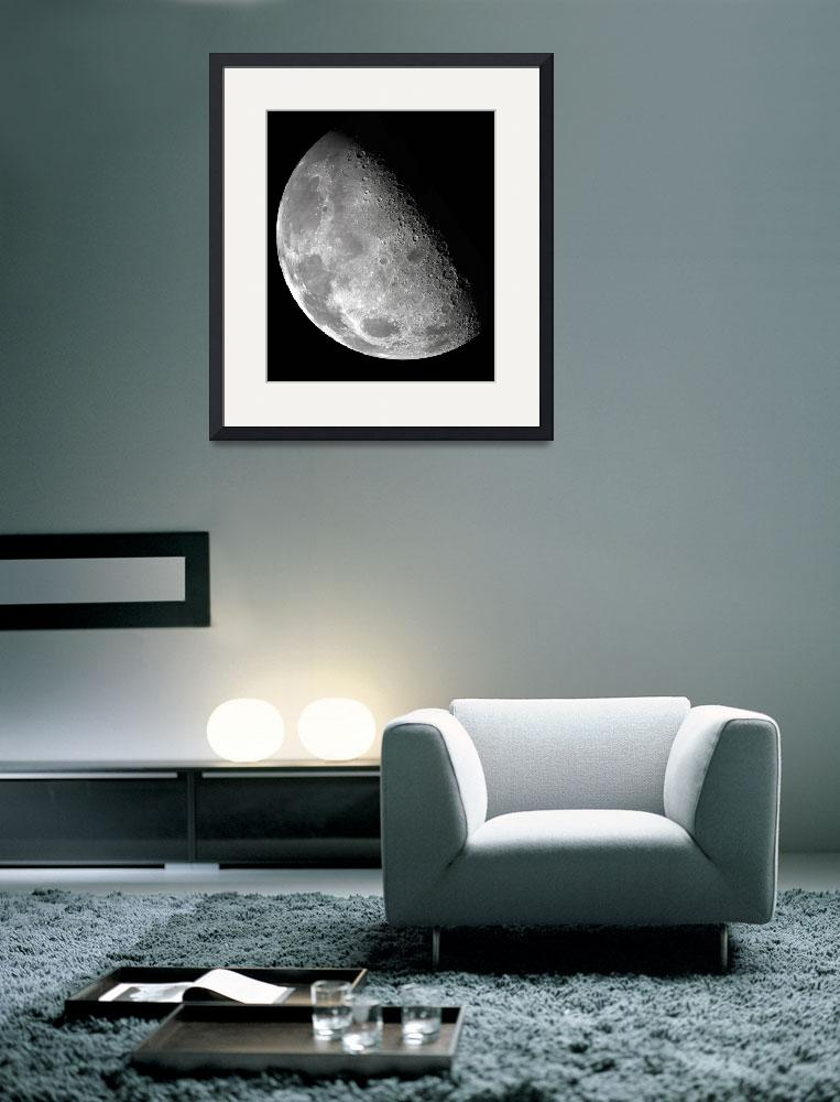 """Moon from the Galileo Orbiter&quot  (2012) by SouthIdahoPhoto"