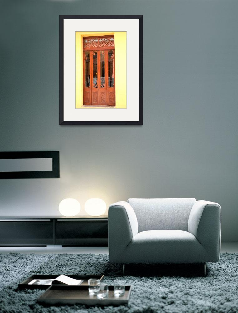 """Art Deco Door&quot  (2006) by JoaoPonces"
