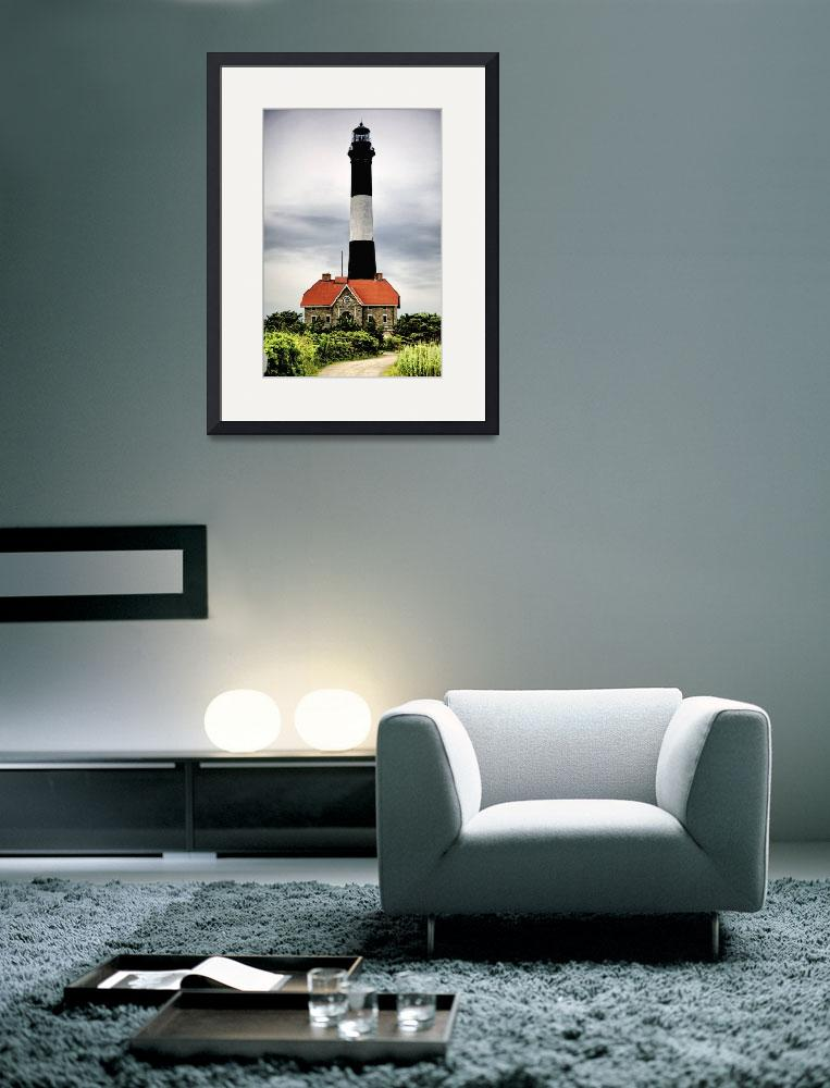 """Fire Island Lighthouse&quot  (2009) by New-Yorkled"