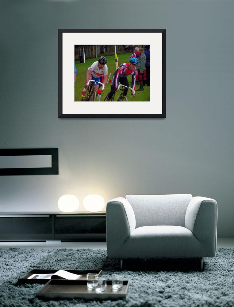 """Cycle racing&quot  (2008) by FifePhotographer"