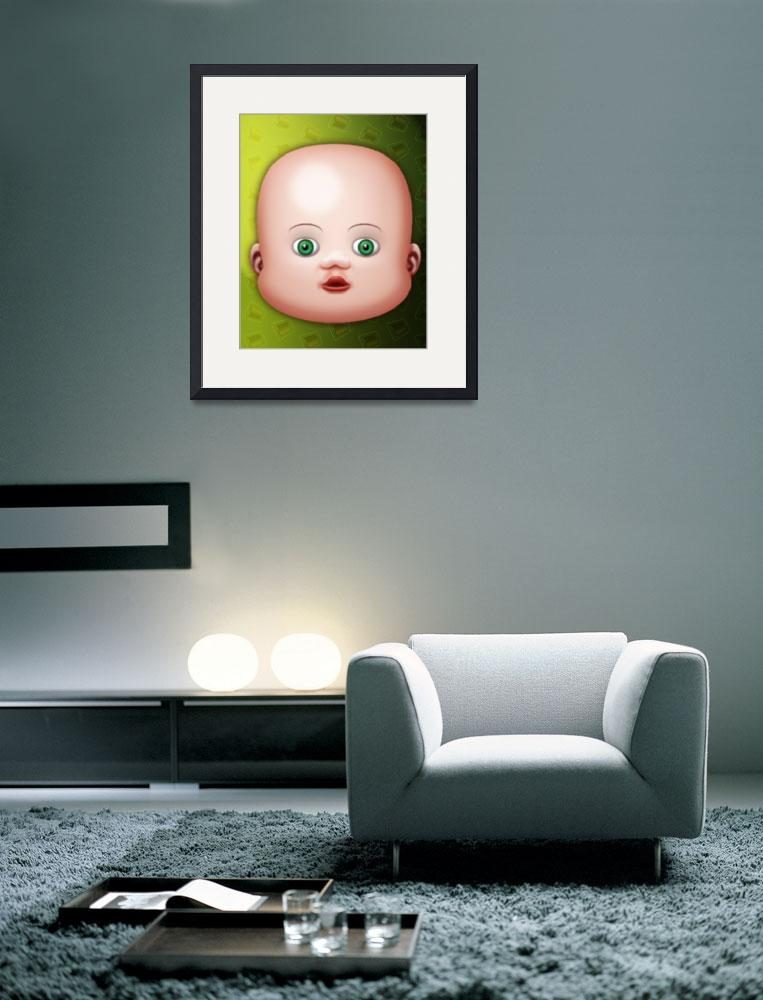 """Baby Small Eyes&quot  (2006) by MikeCressy"