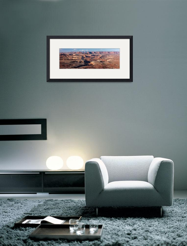 """Canyonlands Panoramic&quot  by cyorkphoto"