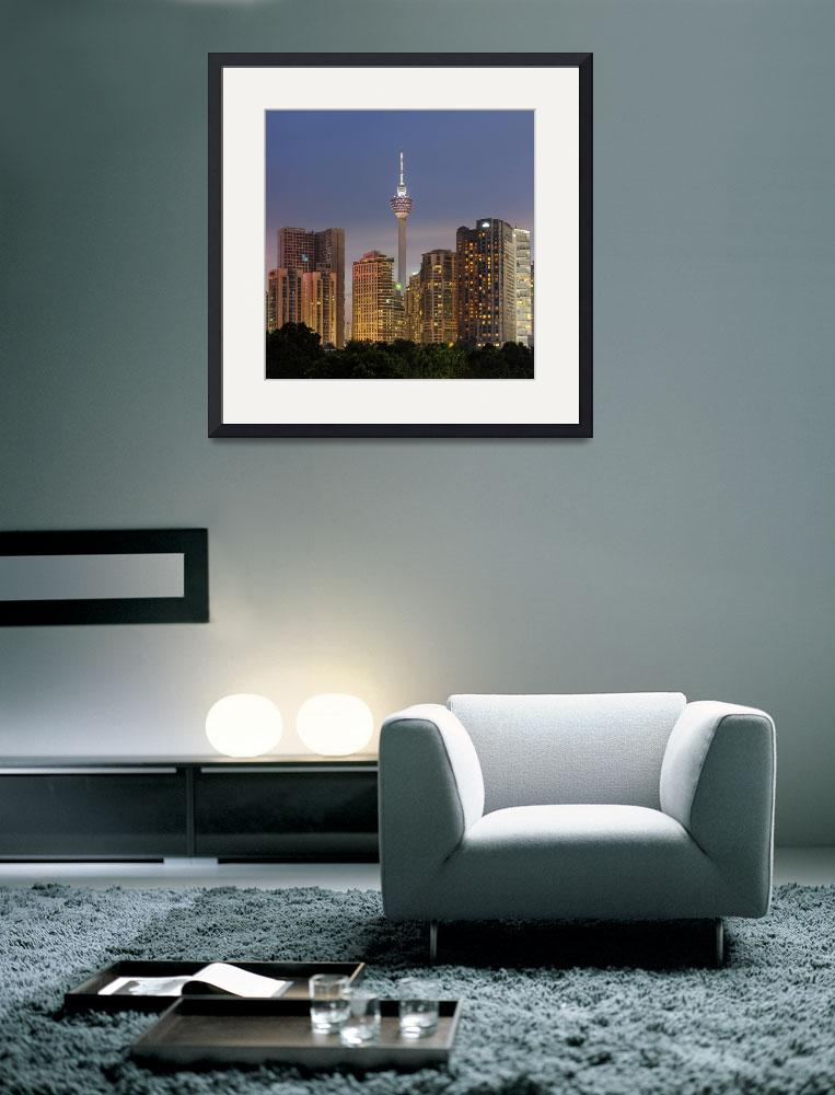 """The Kuala Lumpur Tower&quot  (2013) by vedd"