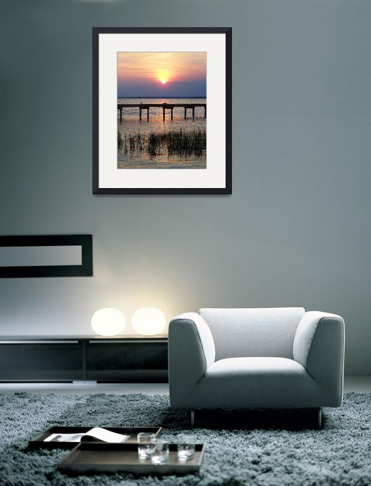 """Sunset at the Outerbanks&quot  (2009) by SandiOReilly"
