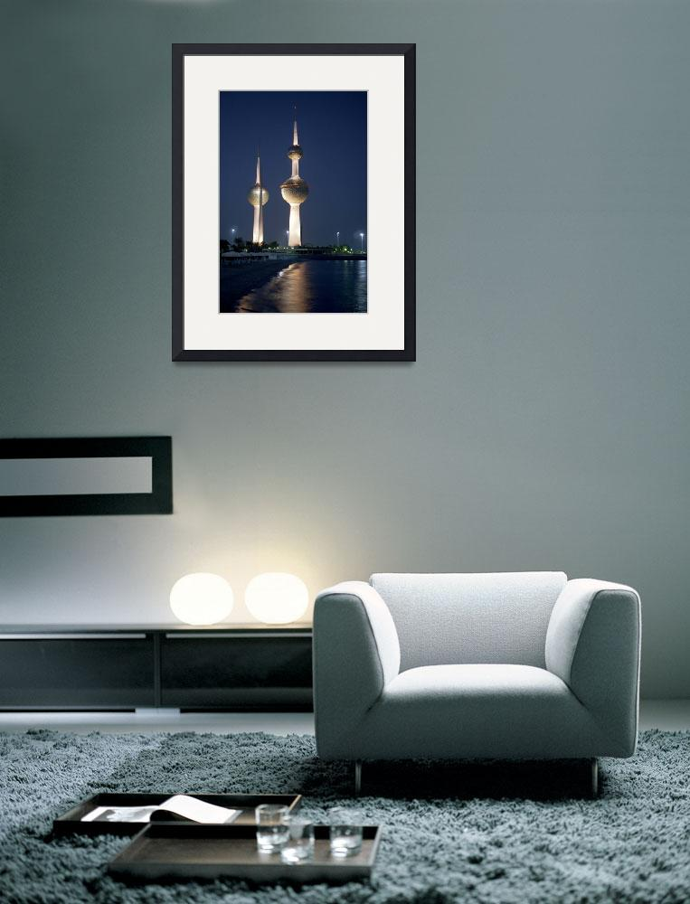 """Kuwait Towers&quot  (2004) by Lawrence"