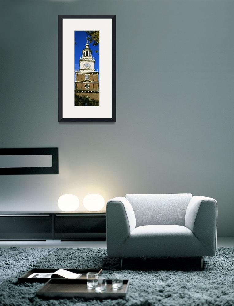 """Low angle view of a clock tower&quot  by Panoramic_Images"