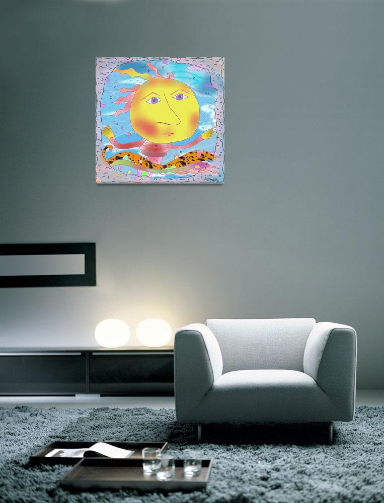 """""Sun window""-Children Colorful Fantasy Stories&quot  by Arran"