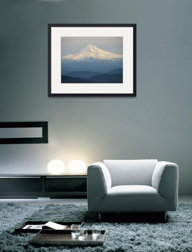 """Hazy Mountain&quot  (2007) by moorephotos"