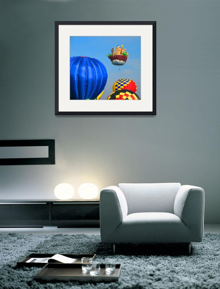 """Hot Air Balloons&quot  (2009) by ralphnelsen"