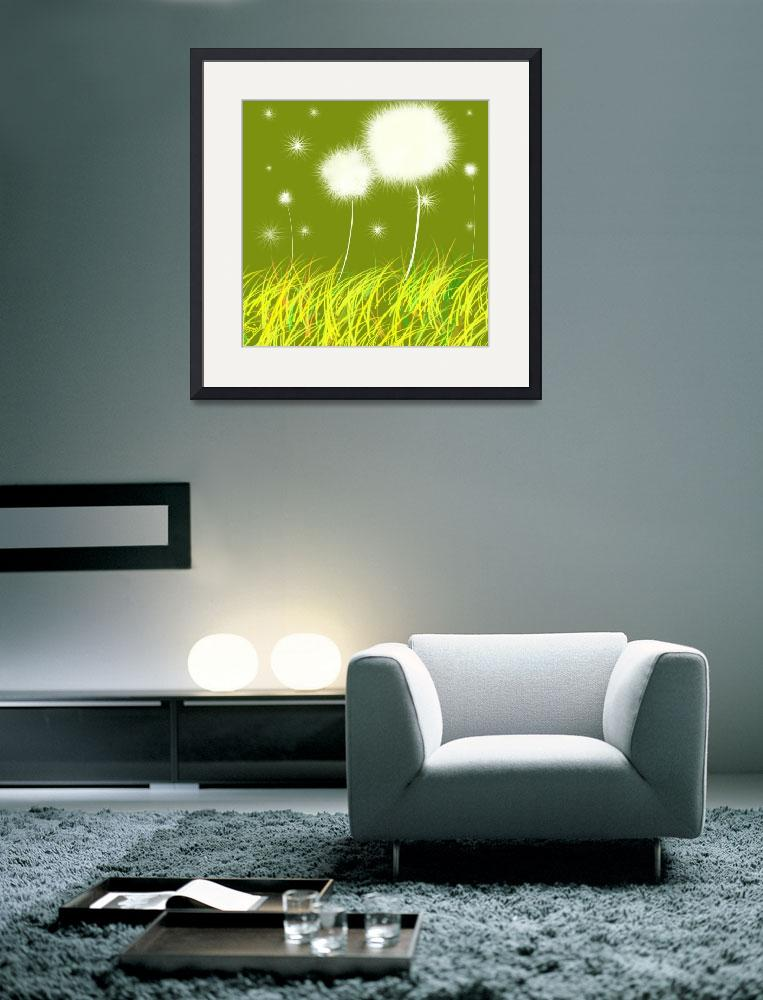 """Dandelions Are Free&quot  (2011) by oystudio"