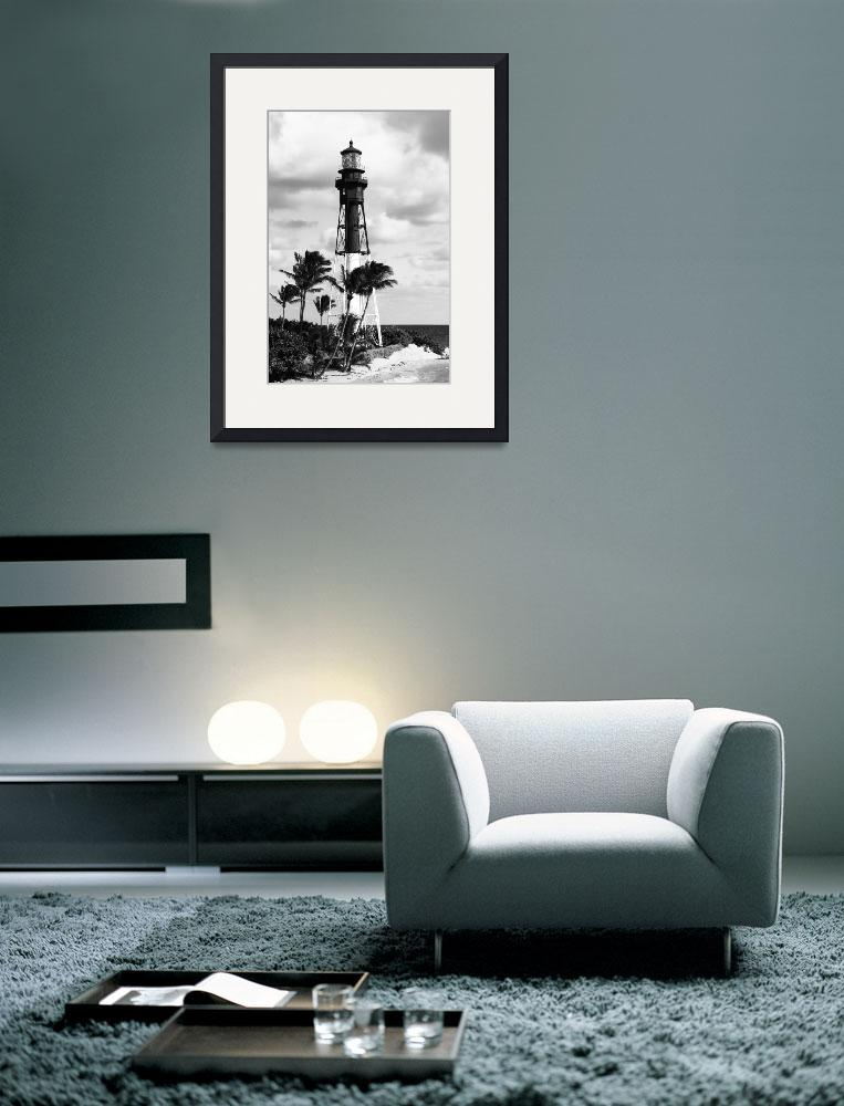 """Hillsboro Inlet Lighthouse&quot  (2014) by RoupenBaker"