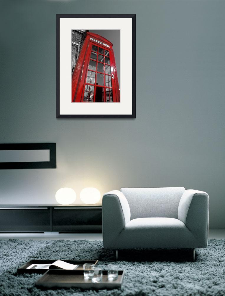 """London. Phone Box and Big Ben (2008 © Alan Copson)&quot  (2008) by AlanCopson"