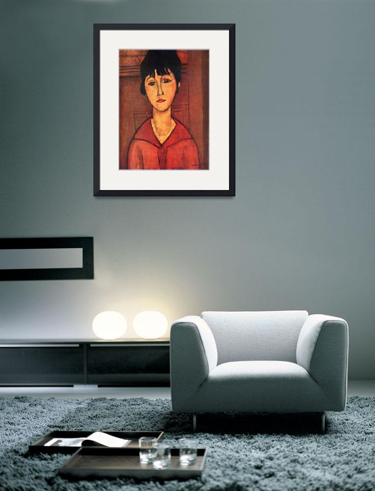 """Amedeo Clemente Modigliani Painting 20&quot  by ArtLoversOnline"