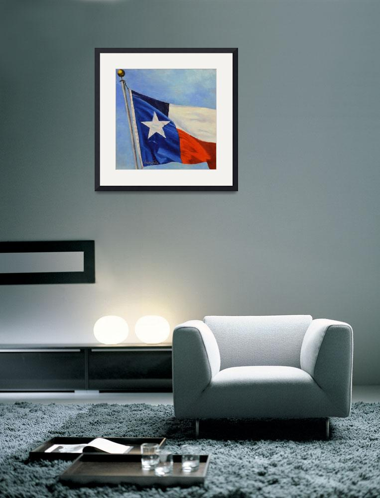 """Lone Star&quot  (2013) by Beckyhicksfineart"