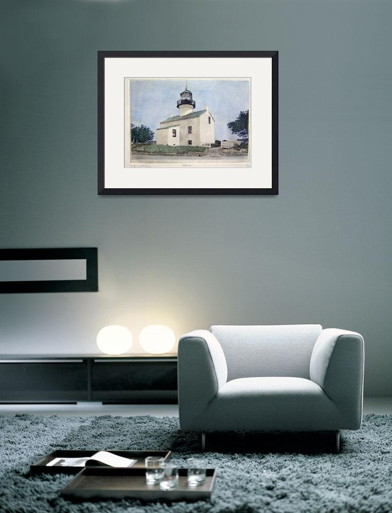 """Cabrillo [ Point Loma Lighthouse]&quot  (2004) by DannyPhifer"